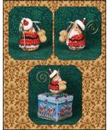 Gingerbread Santa Mouse Ornament LIMITED EDITIO... - $14.00