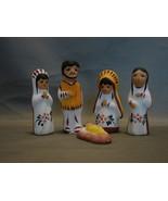 5 Piece Nativity Set Native American Nativity F... - $8.99