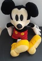 "Disney Store Mickey Mouse Treasure Plush Stuffed Animal 16"" Tall - $32.43"
