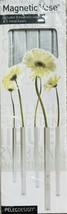 Peleg Design Magnetic Vase Set of 5 Silver - $26.74