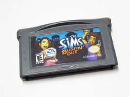 Sims Bustin' Out, Nintendo GameBoy Advance GBA... - $13.99