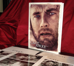 'Cast Away' Complete Movie Press Kit + Photos - Tom Hanks and Helen Hunt - $29.95