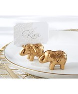 Lucky Golden Elephant Place Card Holders (Set of 30) - $74.95