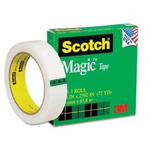 3M(TM) Scotch Magic Tape 810, 1 Inch x 2592 Inch, Boxed - $13.68