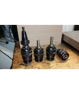 4 COGSDILL JA2000 AUTOMATIC RECESSING HEADS & CAT40 ARBOR - $147.51