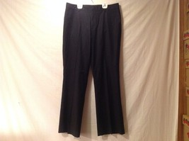 Great Condition Gap Khakis Size 10L Cotton Blend Black Pants 2 Pockets Clip Zip