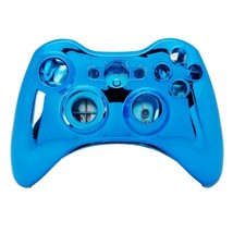 Wireless Controller Shell Case for Xbox 360 Plating Blue - $11.28