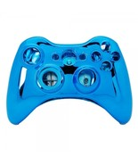 Wireless controller shell case for xbox 360 plating blue nologo 600x600 thumbtall