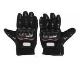 L-size Bicycle Motorcycle Riding Protective Gloves Black