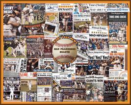 SF Giants 2014 World Series Newspaper Collage Print- 16x20 Unframed prin... - $19.99