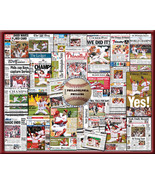 Philadelphia Philles  World Series Newspaper Collage- 16x20 Unframed pri... - $19.99