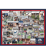 New England Patriots 2015 Super Bowl Newspaper Collage Print Art designe... - $19.99