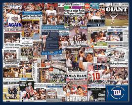 "New York Giants 2012 Superbowl Newspaper Collage- 16x20"" Unframed print.... - $19.99"