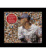 Mariano Rivera Photo Mosaic Print Art Designed using 50 Different Photo ... - $20.00