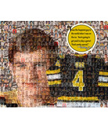 "Bobby Orr Mosaic Print Art Using 50 Different Images of Orr- 8x10"" Matte... - $20.00"