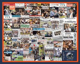 """Denver Broncos NFL 2016 Super Bowl Newspaper Collage Print Art. 8x10"""" or... - $20.00"""