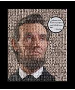 Abraham Lincoln US President Mosaic Print Art Designed using over 50 ima... - $20.00
