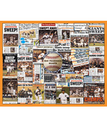 SF Giants 2012 World Series Newspaper Collage Print- 16x20 Unframed prin... - $19.99