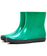Womens Garden Boots, Rain Boots Short Ankle-High Wide Calf Pull-On Style with En - $22.98