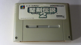 Seiken Densetsu 2 - Secret of Mana (Nintendo Super Famicom, 1993) Japan ... - $7.38