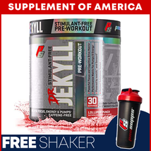 "PS Dr. JEKYLL STIM-FREE STRONG Pre-Workout - 30 Servings ""FREE SHIPPING"" - $18.98"