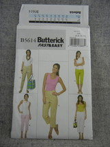 Pants 4 Variations Fast and easy Misses 6 8 10 12 Butterick B5614 UC FF  - $7.00