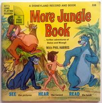 More Jungle Book 7' Vinyl Record / Book, Disneyland - 338, 1969 - $45.95
