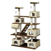Huge Cat Tree Scratcher Condo Furniture Pet Play Toy Kitty Tower Activit... - $306.96