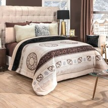 Bombay Flannel Extra Soft Reversible Blanket King Size - $98.00