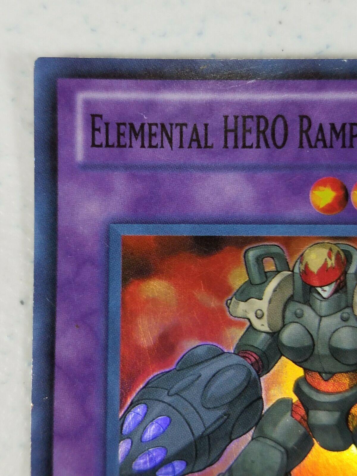 Yu-gi-oh! Trading Card - Elemental Hero Rampart Blaster - LCGX-EN047  Super Rare