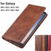 K71) Leather Wallet Flip Magnetic Back Cover Case For Samsung Galaxy - $61.86