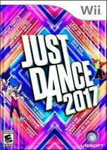 Just Dance 2017 Wii Party Holidays Parties Kids Adults Fun Family Group... - $60.73