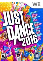 Just Dance 2016 - Wii Pop R And B Songs Dancing Kids Groups Party Famil... - $46.71