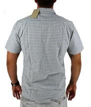 Levi's Men's Cotton Short Sleeve Plaid Button Up Shirt White 651840001 image 4