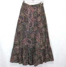 Maurices Long Tiered Peasant Skirt Boho Gypsy F... - $26.07