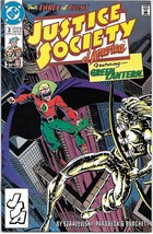 Justice Society of America Comic Book Mini-Series #3 DC 1991 VERY FINE+ ... - $2.50
