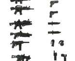 G accessories weapons for lego brickarms minifigs army accessories and rifles pack thumb155 crop