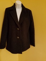 Forever21 Los Angeles Co Womens Black Coat Size L EUC NWT - $19.78