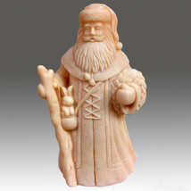 Elegant Santa - 3D silicone Soap/polymer/clay/candle mold - $49.49