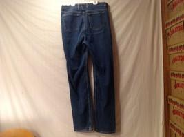 Great Condition Eddie Bauer Cotton Blend Size 16 Tall Blue Jeans Button Zipper image 4