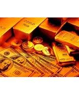 GOLDEN WEALTH FLOW EXTREME CAST  VOODOO MONEY MAGICK guaranteed results  - $50.00