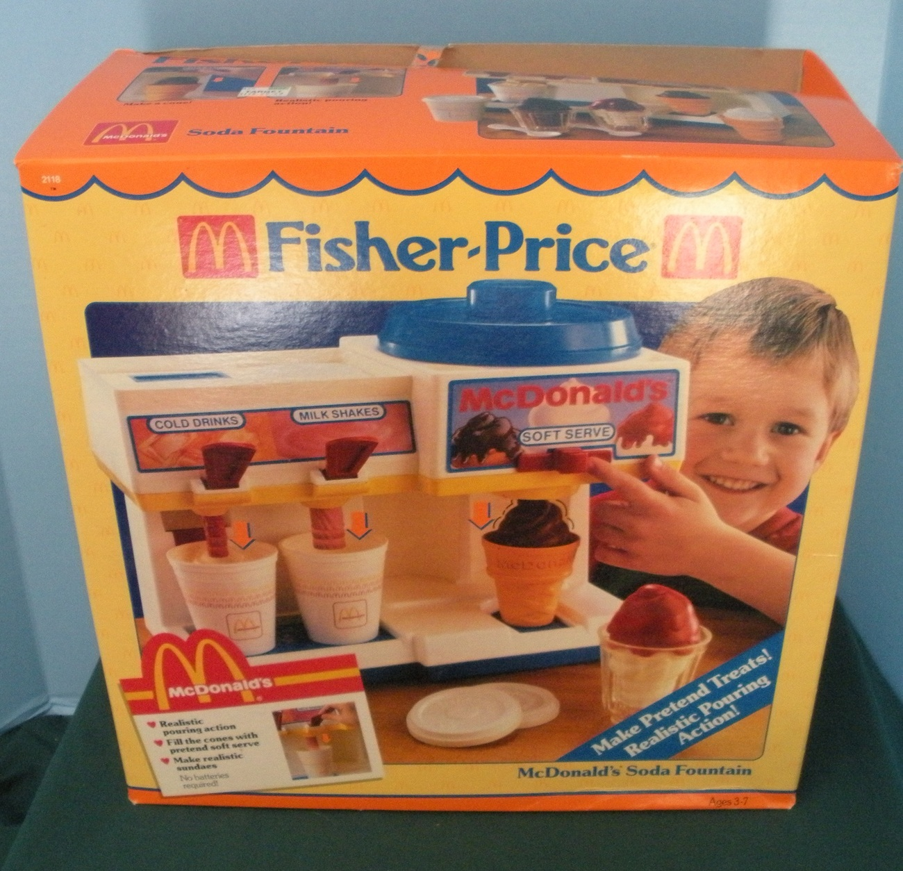 Fisher Price Toy Food : Vintage fisher price fun with food mcdonald s soda