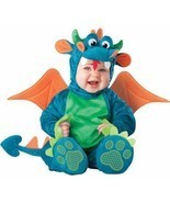Dinky Dragon 6-12 mos INFANT TODDLER COSTUME Boys Kids Cute Theme Party ... - £36.84 GBP