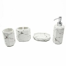 YangShiMoeed Bathroom Accessories Sets with Soap/Lotion Dispenser,Toothb... - $39.31