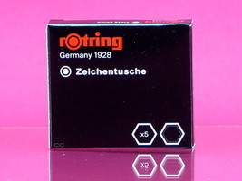 Rotring Ink Cartridge Black Isograph Technical Pen 1 Pack - $6.99