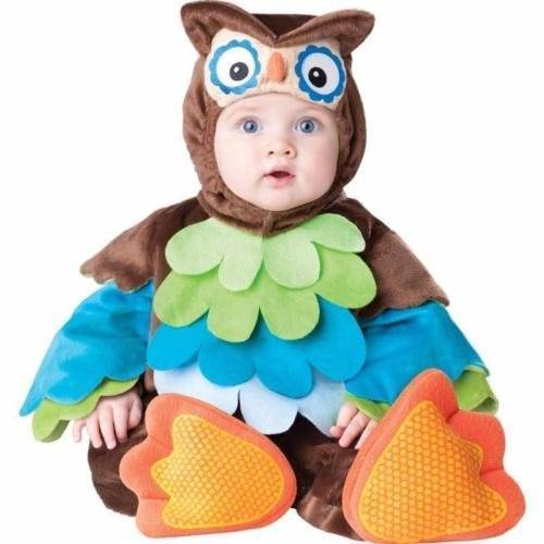 What a Hoot Owl 6-12 mos INFANT TODDLER COSTUME Kids Cute Theme Party Halloween
