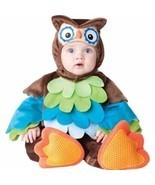 What a Hoot Owl 6-12 mos INFANT TODDLER COSTUME Kids Cute Theme Party Ha... - £36.84 GBP