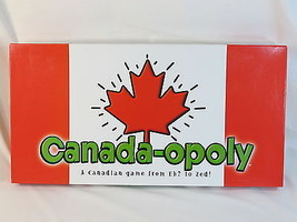 Canada-opoly Monopoly Board Game Canadaopoly 100% Complete New Opened Box - $36.51