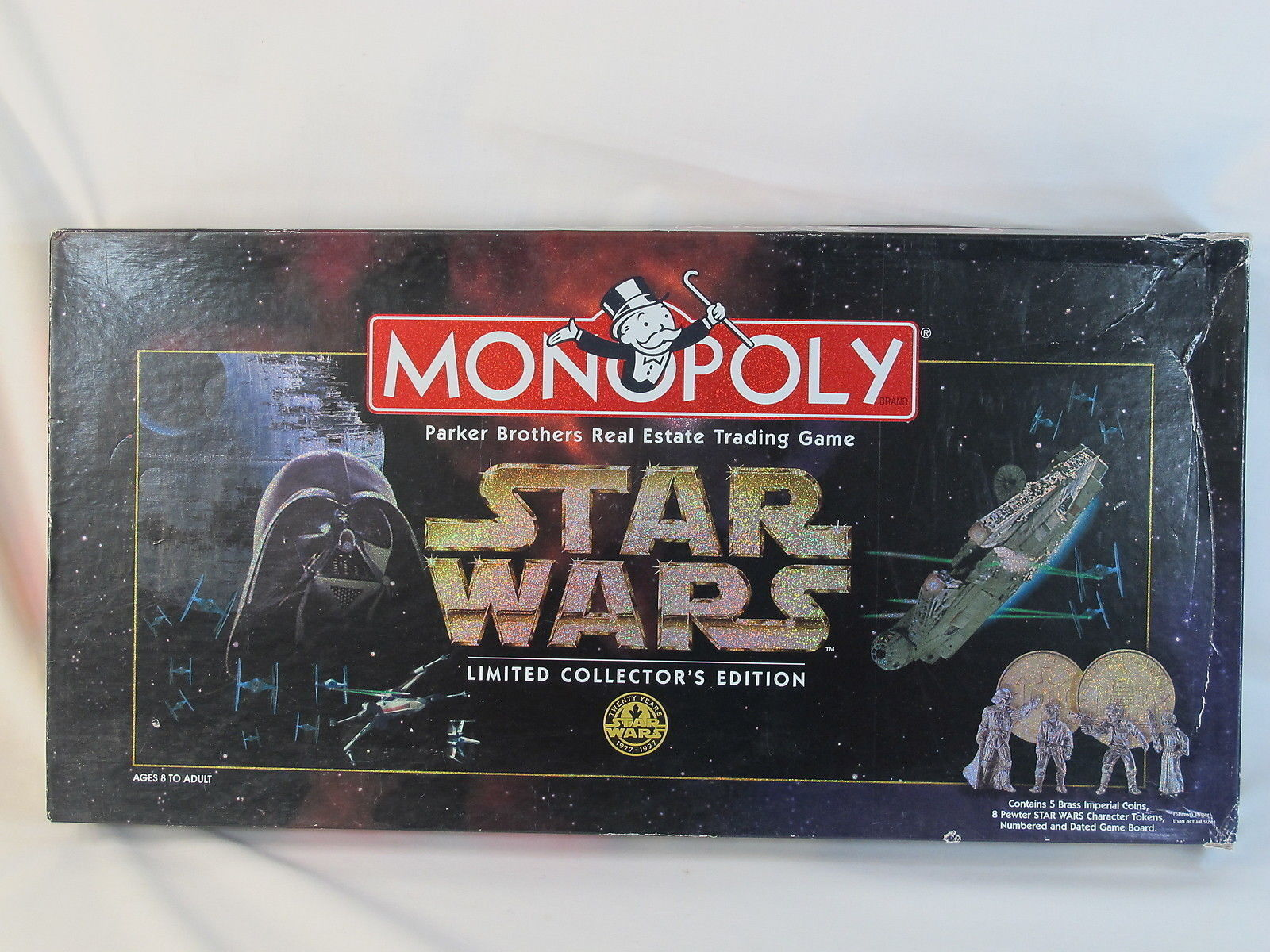 Primary image for Monopoly Star Wars 1996 Limited Collector's Edition Parker Brothers 100% EUC