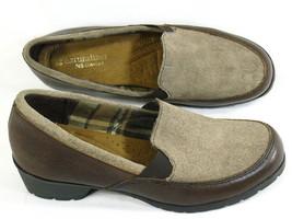 Naturalizer N5 Comfort Brown Leather Loafer Heels Size 6.5 M US Near Mint - $20.01 CAD